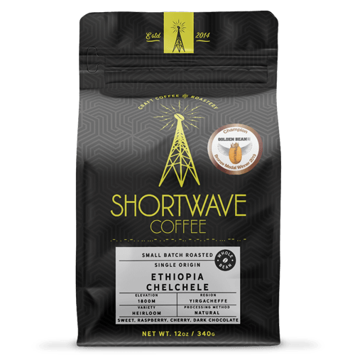 Shortwave Coffee Ethiopia Yirgacheffe Chelchele 12oz Bag