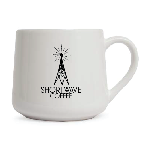 Shortwave Coffee Lightning Bolt Mug