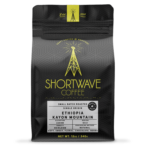 Shortwave Coffee Ethiopia-Guji-Kayon Mountain 12oz Bag